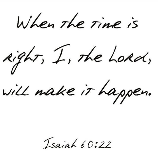 Truth. I prayed for years, 21 years to be exact before God gave me the loving man I have and the children I prayed for. I was patience and it was so worth it.