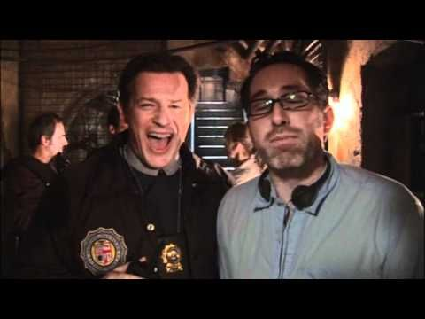 Costas Mandylor and Darren Bousman bts of Saw IV