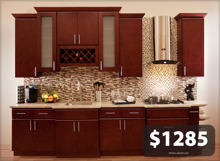 All Solid Wood Kitchen Cabinets Villa Cherry 10x10 Rta Cherries Villas And Flats