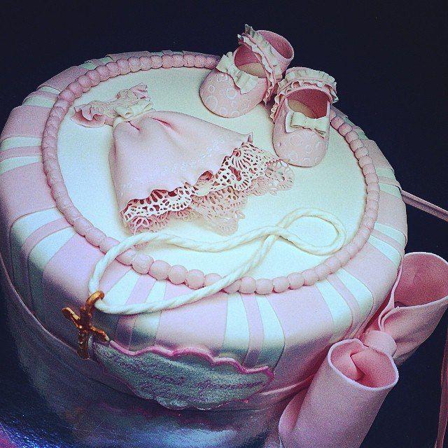Торт на крестины для девочки #торт_на_заказ_бровары #крестины #бисквитный_торт #шоколадный_торт