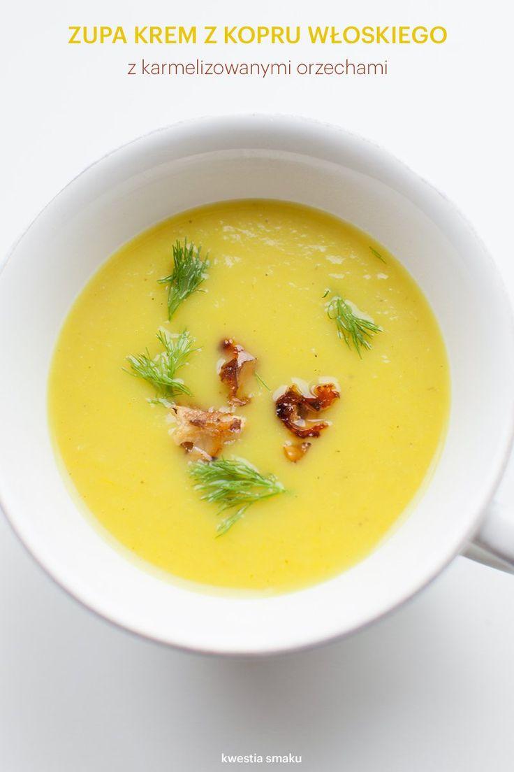 Zupa krem z kopru włoskiego