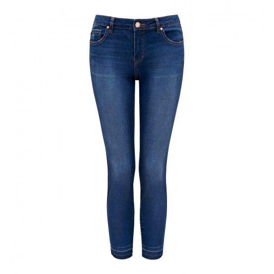 Hannah Low Rise Skinny Crop Jeans