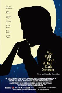 You Will Meet a Tall Dark Stranger - This Woody Allen movie somehow passed me by in 2010 when it came out. Classic Woody Allen, you'd know it was him from the first 5 minutes. A story about marriage. Loved it.