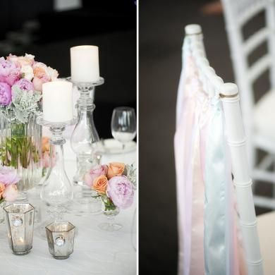 Whimsical reception styling by Touched By Angels