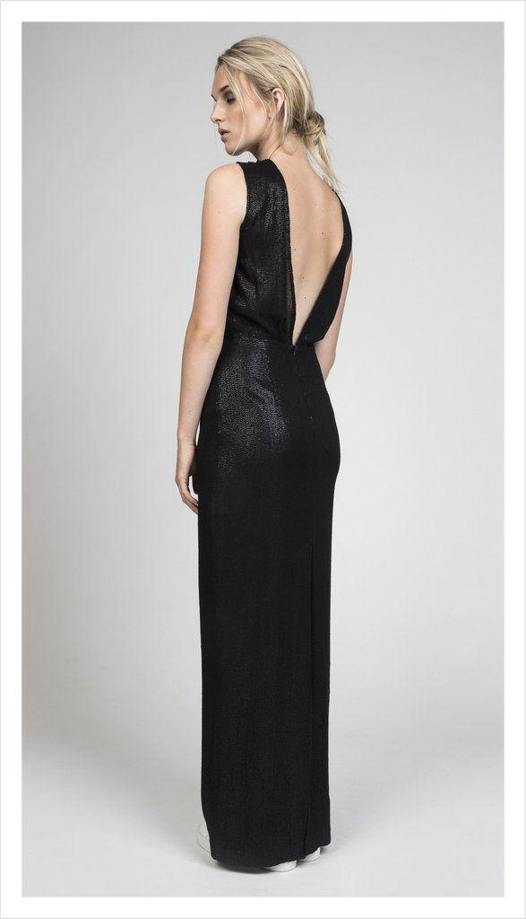 statement dress (silk sequins)
