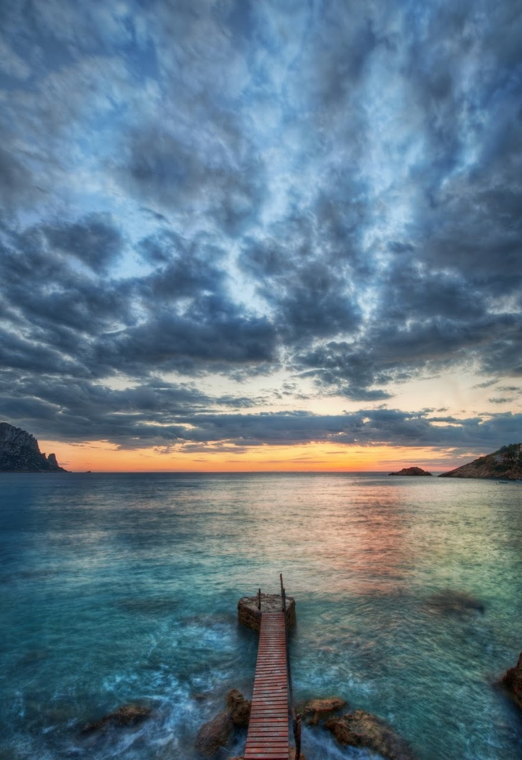 Pier in Ibiza - Spain my favorite place in the world