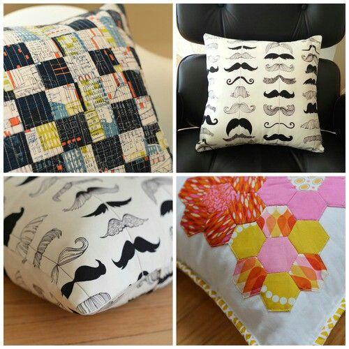 Binded edge cushion