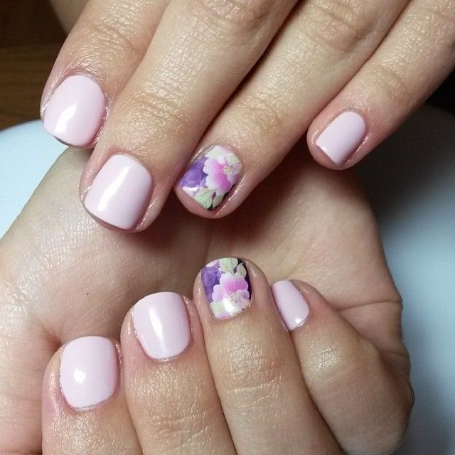 1000+ Ideas About Light Pink Nail Designs On Pinterest