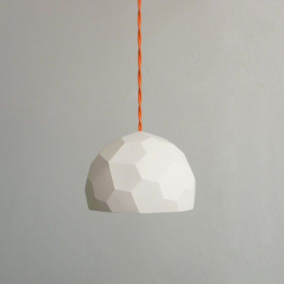 PolyGlobe luminaire sur Etsy, 85,95 €