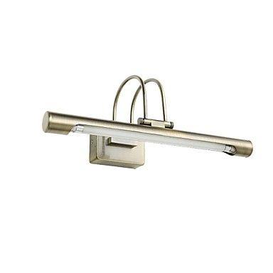 Lámparas de pared, 1 luz, artístico Acero inoxidable Recubrimiento MS-5640 – CLP $ 54.262
