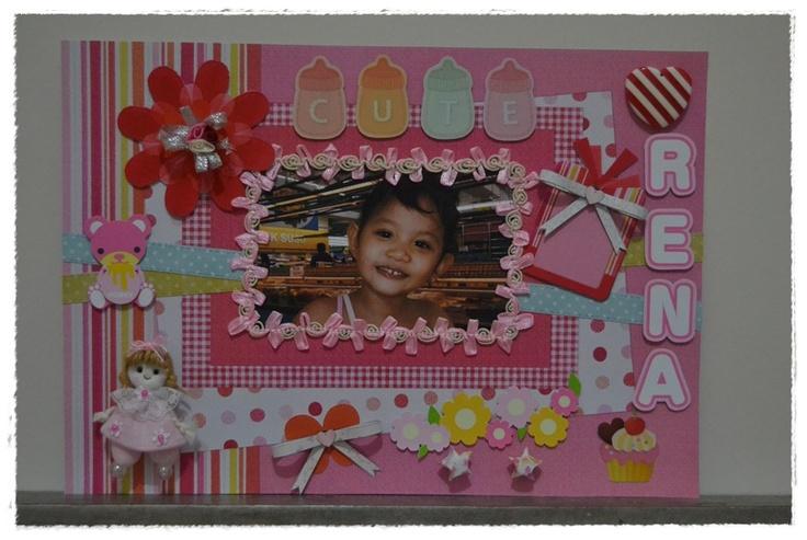 pink scrapbook *cute girl*