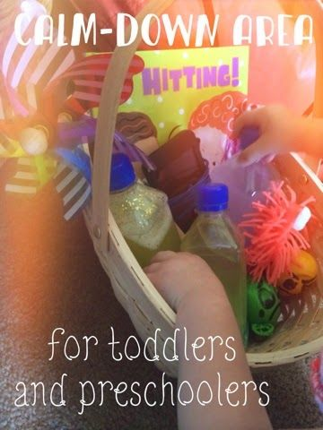 Views From the Step Stool: Setting Up a Calm-Down Area for Toddlers and Preschoolers