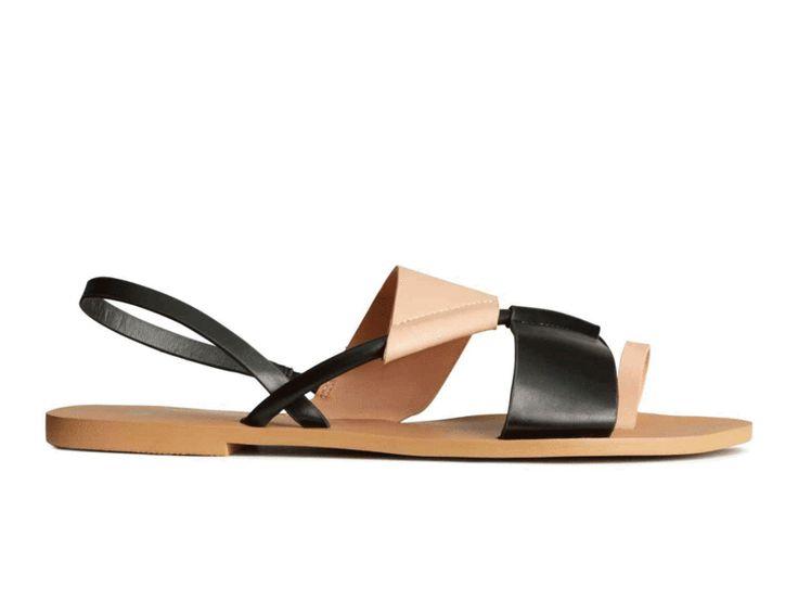 Sandalias bicolor de H&M