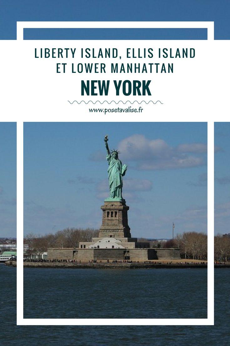 Guide des à visiter et à voir lors de votre voyage à Manhattan, à New York ! Découvrez Liberty Island et la statue de la Liberté, Ellis Island, Wall Street, le Mémorial du 11 Septembre et Lower Manhattan. Plus d'infos sur mon blog de voyages. #blog #voyage #newyork #Manhattan #EllisIsland #LibertyIsland #Mémorial #LowerManhattan