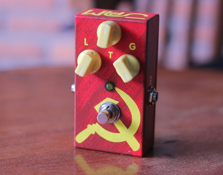 JAM pedals Red Muck review from RIG RIG RIG back in 2014! #jampedals
