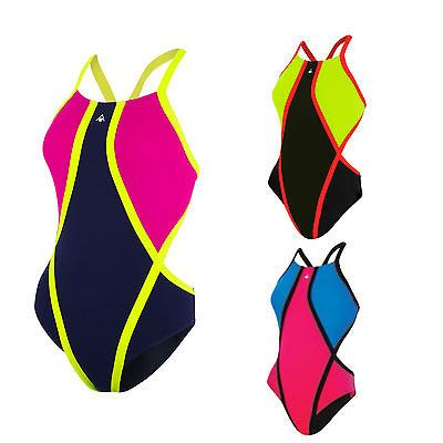 Aqua sphere #jacana ladies #swimsuit open back high leg #swimming costume women,  View more on the LINK: 	http://www.zeppy.io/product/gb/2/401120515823/