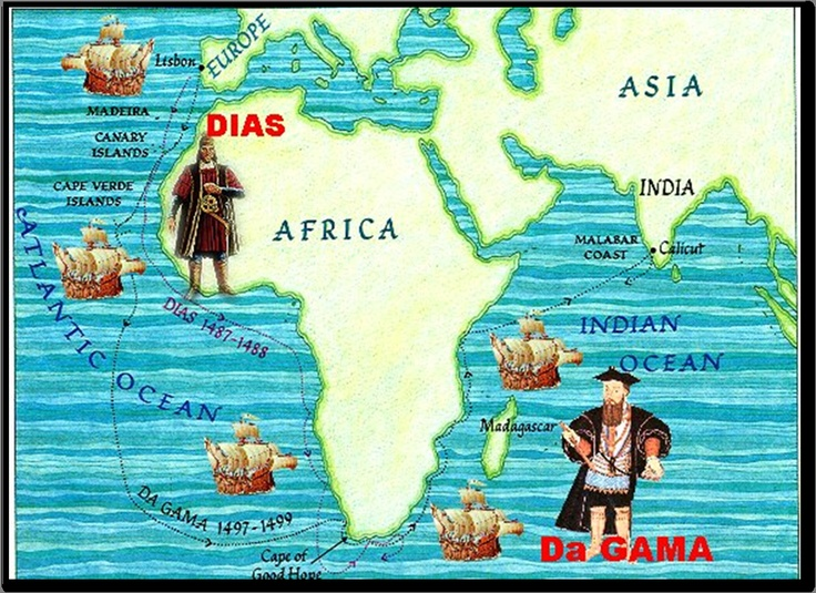 Portugal was the first European nation to trade in Africa. However, their initial goal was not to trade in Africa. Their goal was to sail around it to reach Asia. Sailing around Africa would help them to bypass the Muslim merchants that dominated the land area between Europe and Asia. When the Portuguese began sailing around Africa to reach Asia, they established trading settlements along the west coast of Africa.