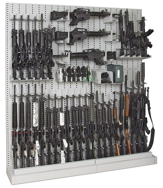 Gun Rack - I can see this hanging on my wall!!!
