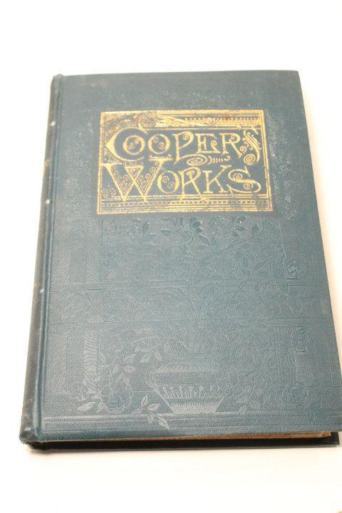 James F Cooper Book Cooper's Works James by ClockworkRummage, $19.00