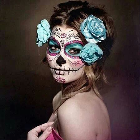 mexico halloween makeup