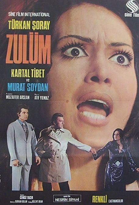 Zulüm; Türkan Şoray...  Arayıp da bulamadığınız tüm orijinal film afişleri için bize ulaşmanız yeterli...