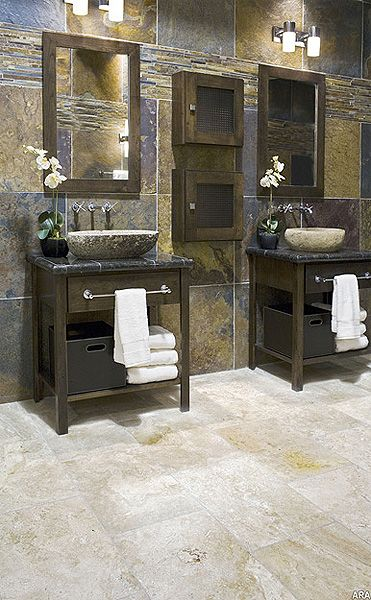 Modern and Rustic Need more counter space but still looks beautiful!