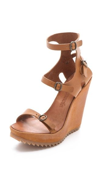 Yes Yes YES!  Pedro Garcia Valeria Buckle Sandals