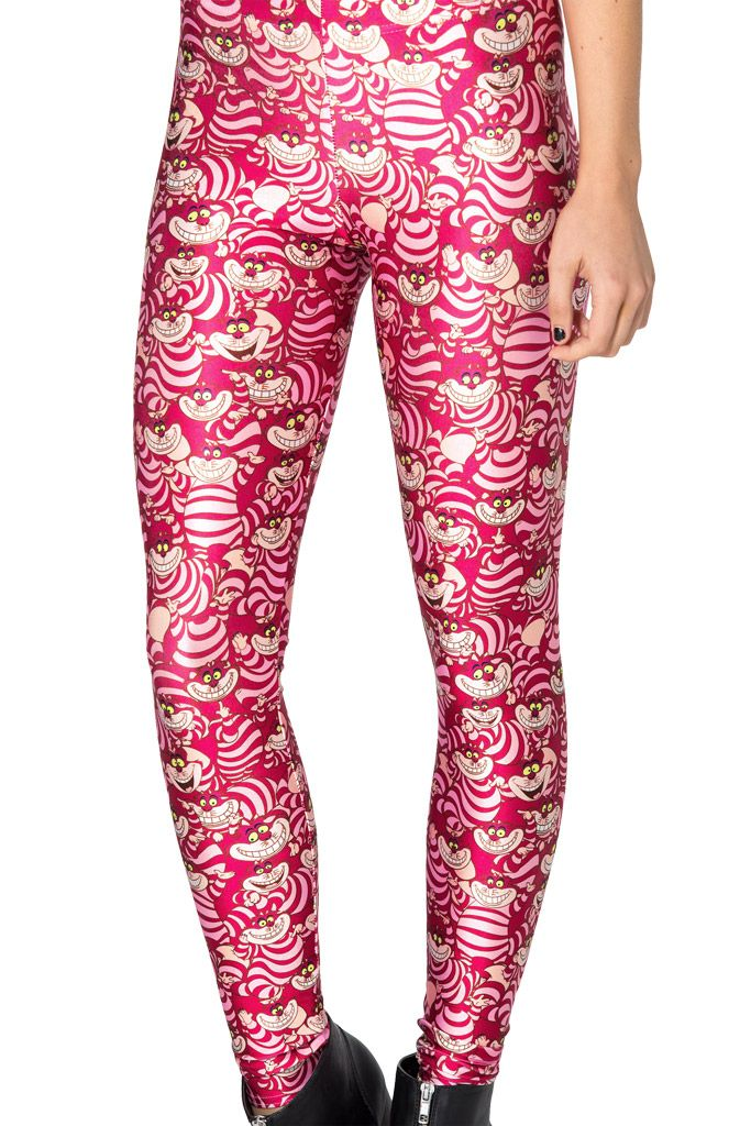 We're All Mad Here Leggings by Black Milk Clothing $85AUD