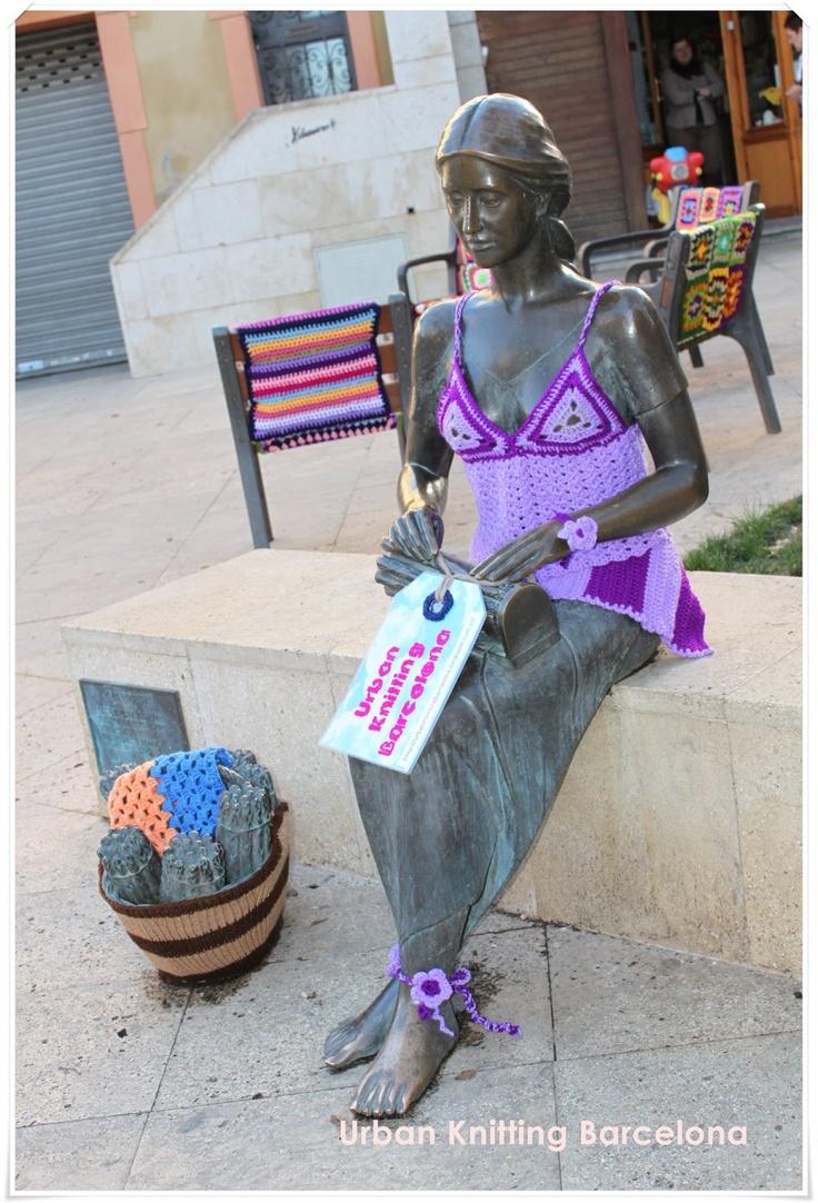 Urban Knitting Barcelona 1