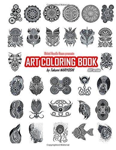 Art Coloring Book Day version: Global Doodle Gems presents Art Colring Book by Takumi Nariyoshi by Global Doodle Gems http://www.amazon.com/dp/8793385234/ref=cm_sw_r_pi_dp_tt8cxb0398YEE