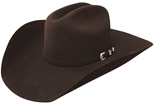 Stetson Stallion Collection The Oak Ridge Brown Cowboy Hat (7 1/8) Western Hat >>> More info could be found at the image url.