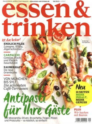 Zeitschrift Essen Und Trinken 8 best essen trinken magazine images on magazines