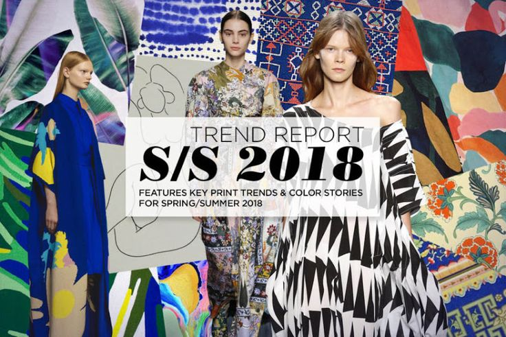 TRENDS // PATTERN PEOPLE - PRINT AND COLOR TREND . SPRING 2018