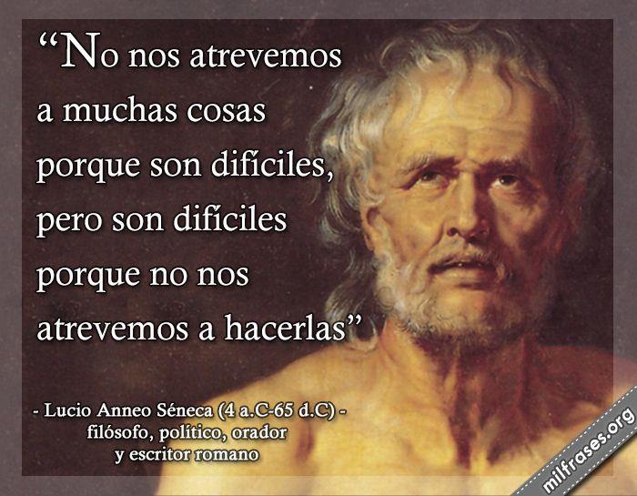 Lucio Anneo Séneca, filósofo, político, orador y escritor romano