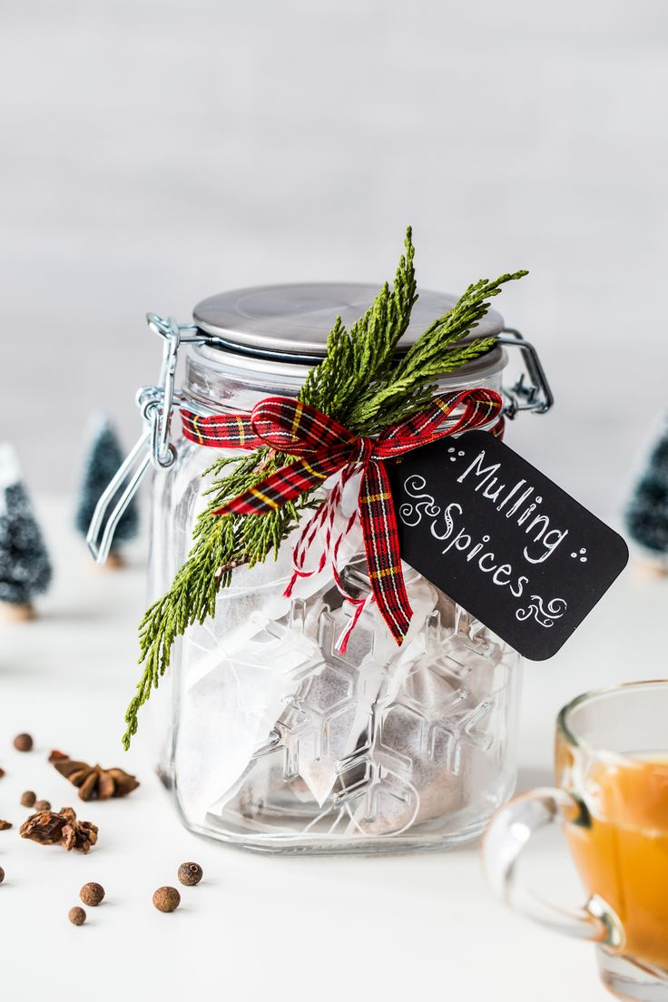DIY Homemade Holiday Mulling Spices are a great gift idea for hostess gifts, teacher gifts, or just keeping on hand to spice up cider and wine this season