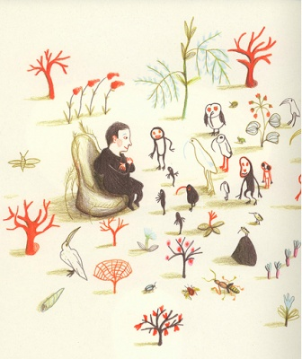 """""""Dans moi"""" - Kitty Crowther"""