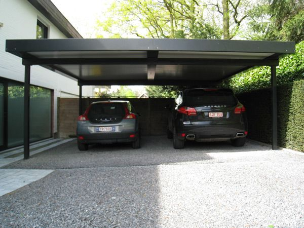 plan carport 2 voitures recherche google carport pinterest maisons. Black Bedroom Furniture Sets. Home Design Ideas