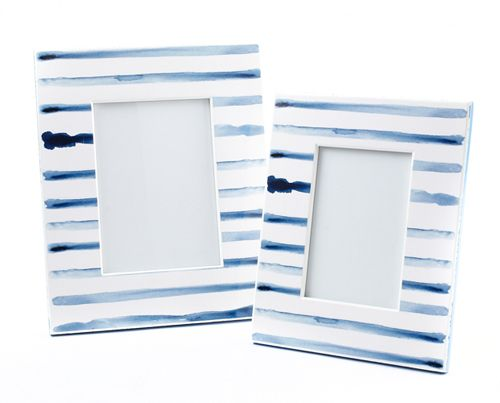 SOLD OUT Blue & White Wooden Picture Frame 5x7 | The Art of Home $38.95 | 1 Requested | 0 Purchased