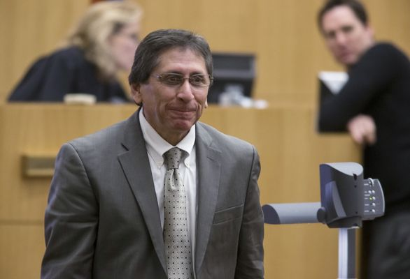 20 / 285 Prosecutor Juan Martinez leaves the bench after a conference with Judge Sherry Stephens (left) during the Jodi Arias sentencing phase of the retrial at Maricopa County Superior Court in Phoenix on Wednesday, Feb. 11, 2015. (AP Photo/The Arizona Republic, Mark Henle, Pool) Legally Speaking: Fighting for life or death, closing arguments start in Jodi Arias case