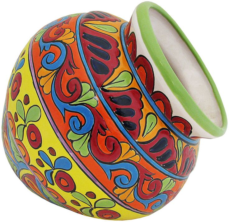 Talavera Kitchen | Talavera Planters Collection - Talavera Wall Planter - TP330