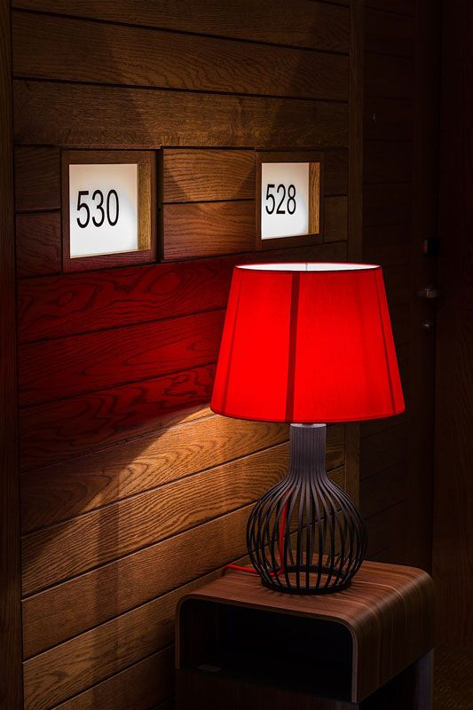 Chelsom Cage Table Lamp at Galgorm Resort and Spa