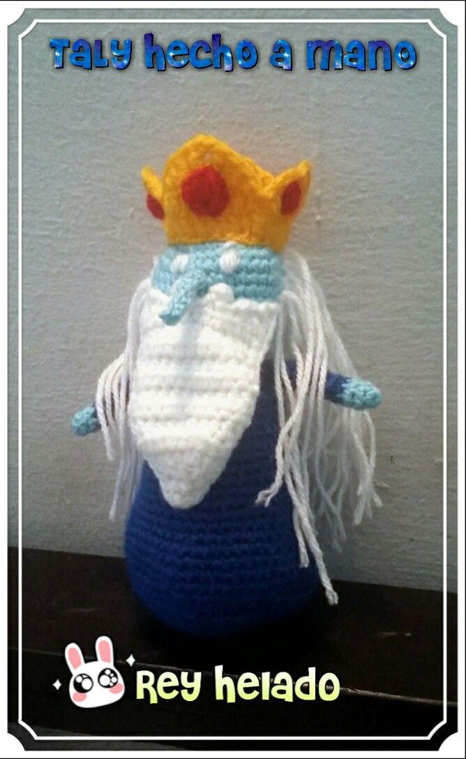 Rey Helado amigurumi  #crochet #hora de aventura #TalyHechoamano