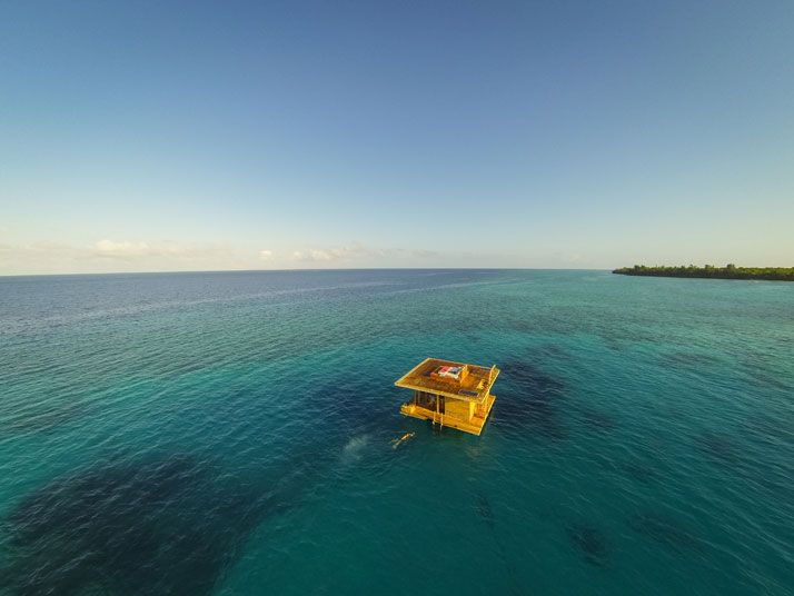 The Manta Resort's Underwater Room Off Pemba Island, Tanzania | Yatzer