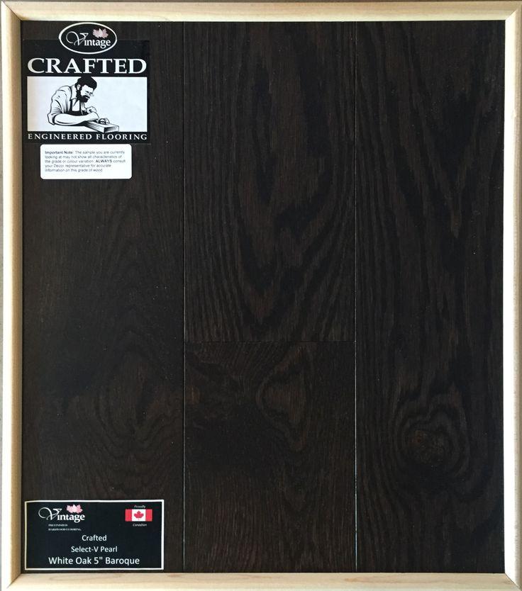 "Included Engineered Hardwood Flooring - White Oak 5"" Baroque"
