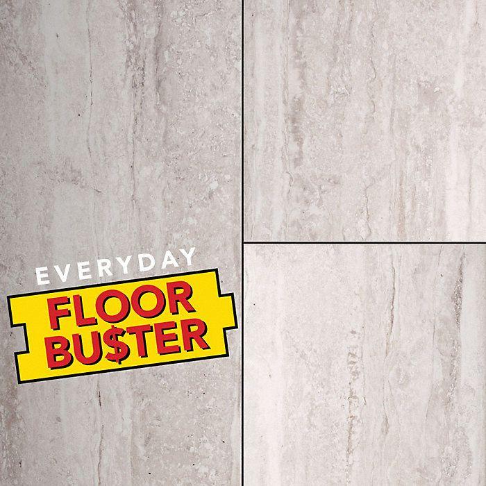 24 X 12 Graystone Travertine Porcelain Tile Avella Lumber Liquidators Waterproof Flooring Wood Plank Tile Flooring