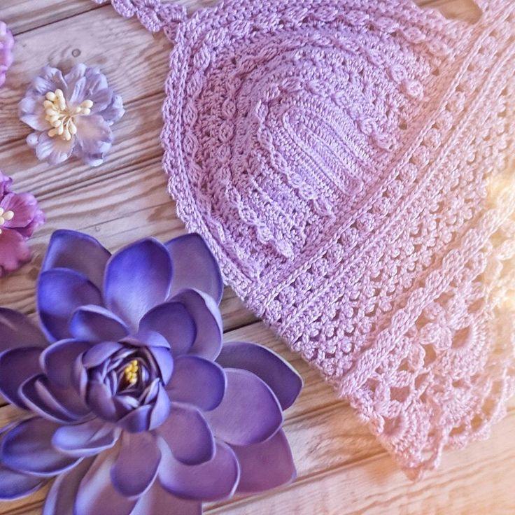 ВЯЗАНЫЕ ВЕЩИ 🎀 УКРАШЕНИЯ (@tanya.crochet) в Instagram: «А я уже вовсю готовлюсь к лету😍 Вяжу для вас красивые пляжные комплекты и купальнички :)👙