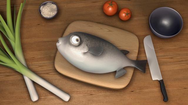 Film d'animation d'une minute sur le thème de la cuisine, Supinfocom Arles, 3ème année. 2012.