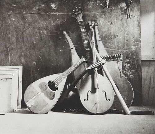 Irving Penn Musical Instruments, Italy 1946