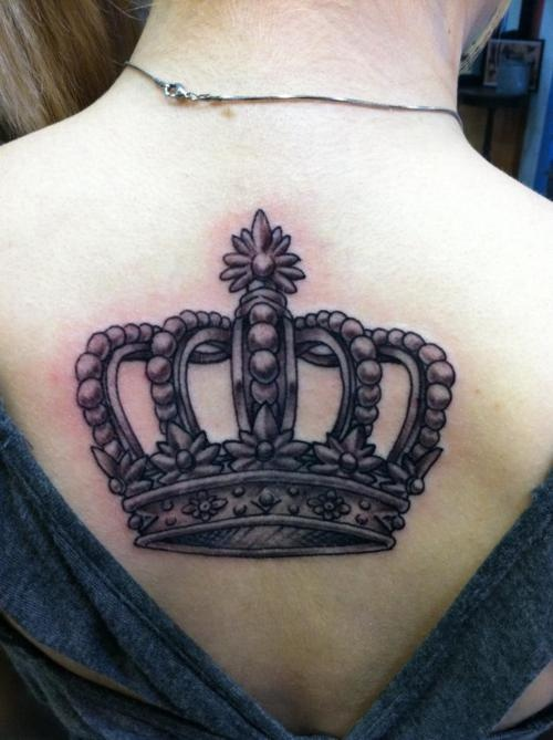 17 best images about tattoos crown king queen on for Best crown tattoos
