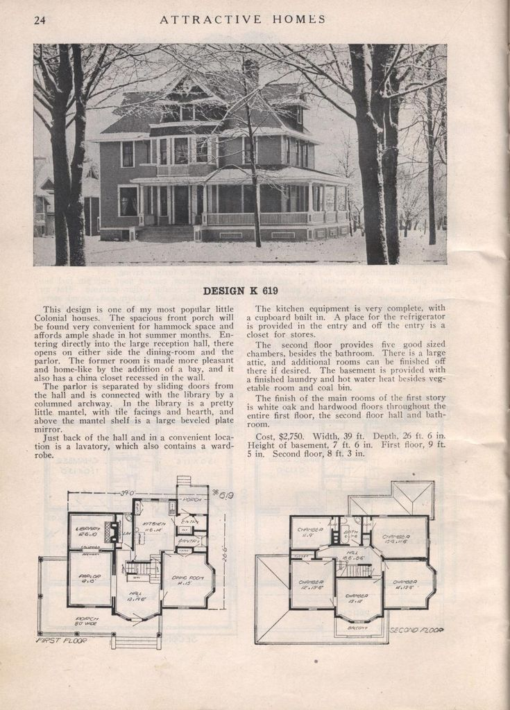 1535 best Plan images on Pinterest | Vintage houses, Vintage house ...